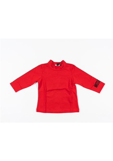MOSCHINO | t-shirt long sleeve | MOS178ROSSO
