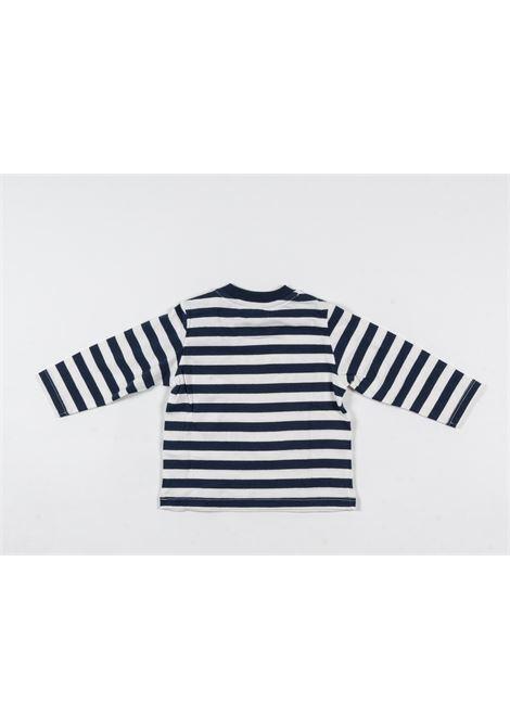 MOSCHINO | t-shirt long sleeve | MOS179RIGA B.CO BLU