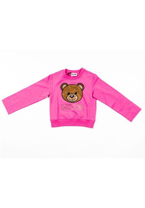MOSCHINO | sweatshirt | MOS185FUXIA