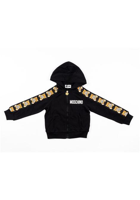 MOSCHINO | sweatshirt | MOS186NERO