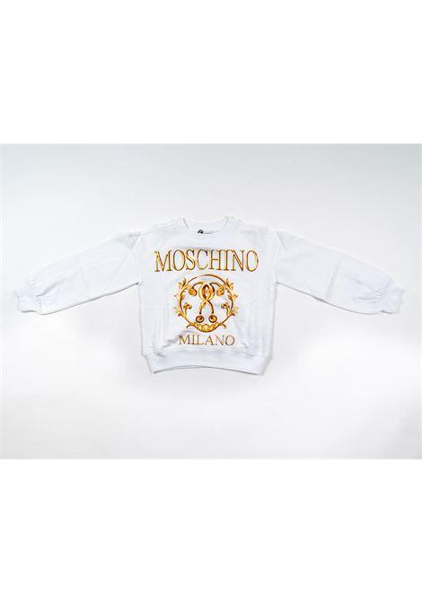 MOSCHINO | sweatshirt | MOS194BIANCO