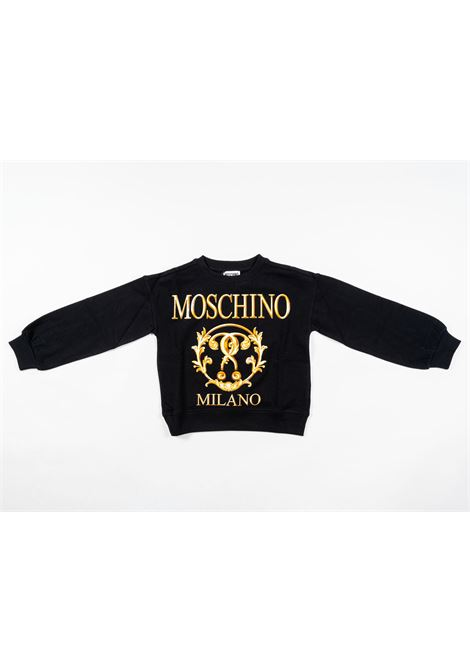MOSCHINO   sweatshirt   MOS194NERO