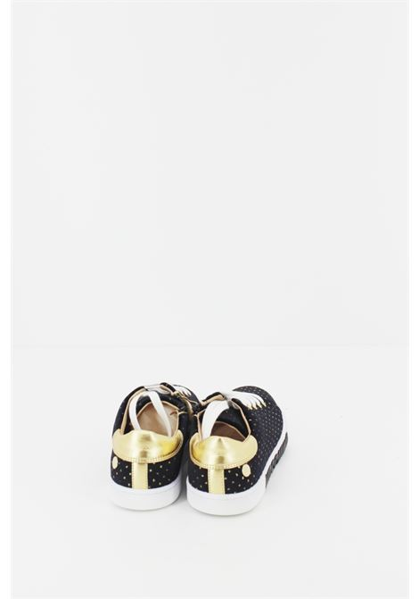 MOSCHINO | Sneakers | SNEAK034NERA-ORO