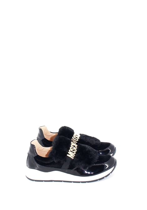 MOSCHINO | Sneakers | SNEAK035NERA-ORO