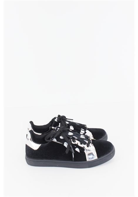 SHOP ART | Sneakers | SNEAK030NERA-ARGENTO