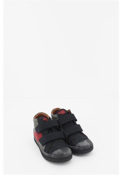 ASTER | Sneakers | SNEAK071GRIGIA-BLU-BORDEAUX