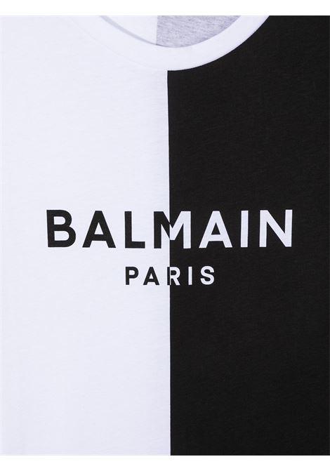 T-shirt Balmain BALMAIN | T-shirt | BAL68BIANCO NERO