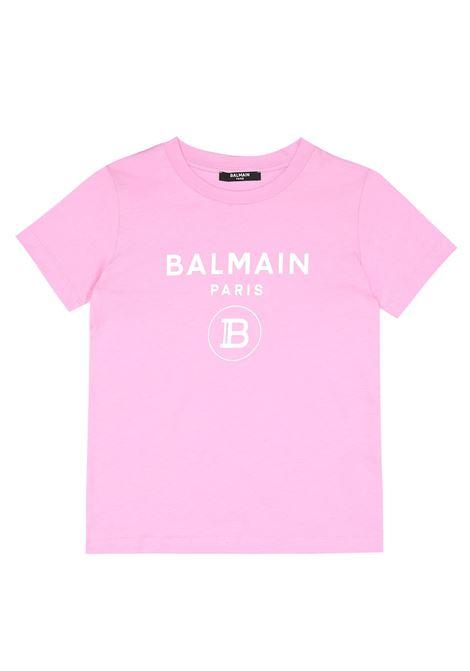 BALMAIN | T-shirt | BAL74ROSA