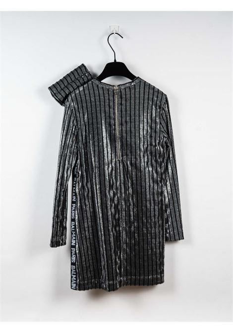 BALMAIN | Dress | BAL78NERO ARGENTO