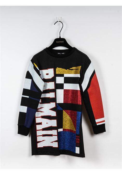 BALMAIN | Dress | BAL80NERO FANTASIA