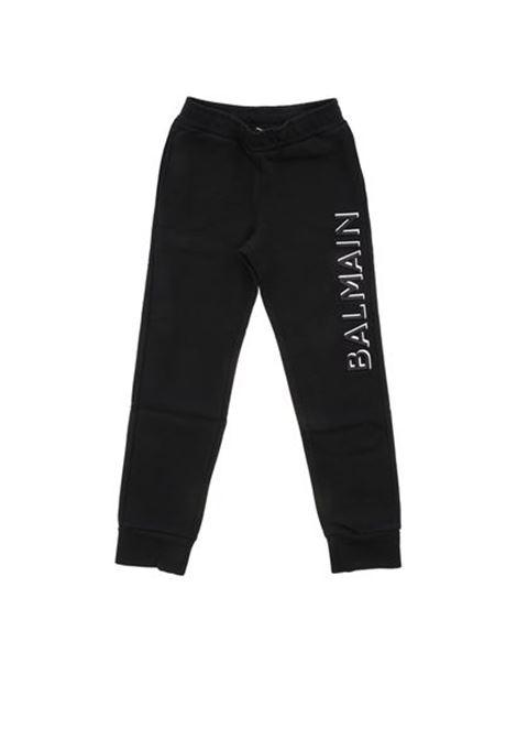 BALMAIN | plushy trousers | BAL84NERO