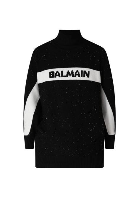 Maxi Maglia Balmain BALMAIN | Abito | BAL86NERO