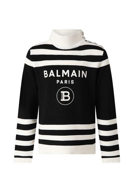 Maglia lana Balmain BALMAIN | Maglione | BAL89NERO