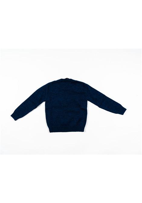 BERWICH | wool sweater | BER14BLU