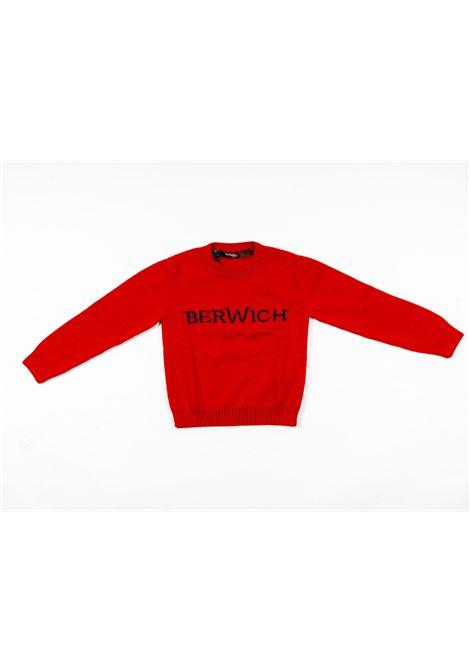 BERWICH | wool sweater | BER14ROSSO