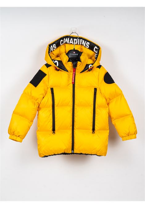 CANADIENS | jacket | CAN04GIALLO