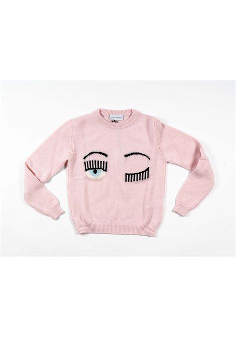CHIARA FERRAGNI   wool sweater   FER19ROSA