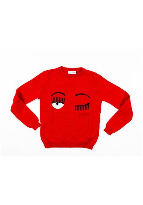 CHIARA FERRAGNI   wool sweater   FER19ROSSO