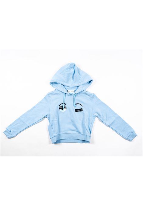 CHIARA FERRAGNI   sweatshirt   FER21AZZURRO