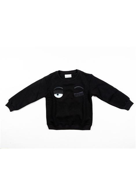CHIARA FERRAGNI   sweatshirt   FER23NERO