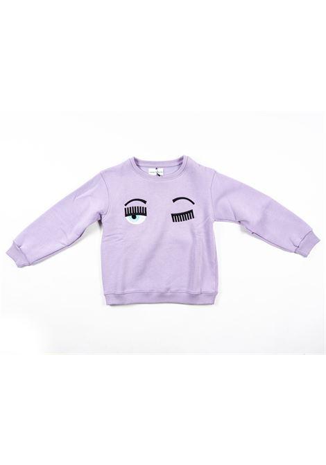 CHIARA FERRAGNI   sweatshirt   FER23VIOLA