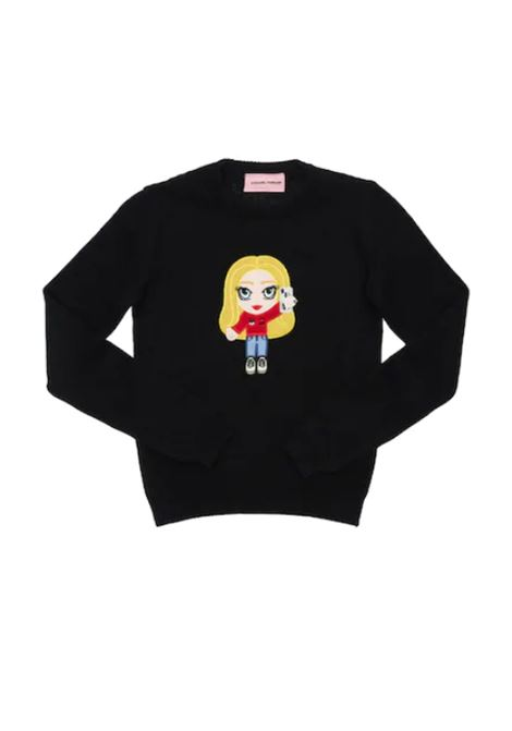 CHIARA FERRAGNI | sweatshirt | FER39NERO