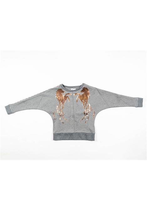CHLOE' | sweatshirt | CHL32GRIGIO