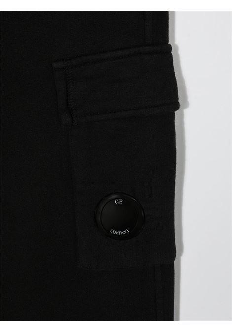 CP COMPANY | plushy trousers | CPC07NERO