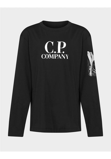 CP COMPANY | t-shirt long sleeve | CPC09NERO