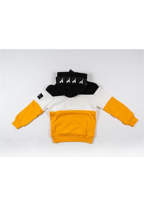 DIADORA | sweatshirt | DIA54NERO GIALLO