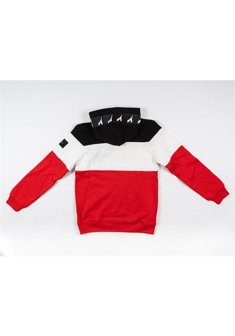DIADORA | sweatshirt | DIA54NERO ROSSO