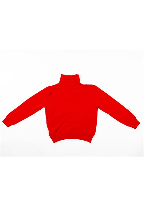 DIXIE | wool sweater | DIX16ROSSO