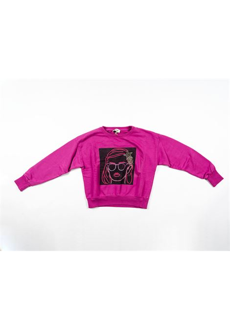 DIXIE | sweatshirt | DIX17VIOLA
