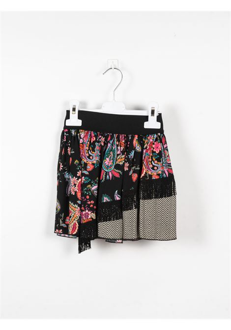 DIXIE | skirt | DIX30NERO FANTASIA