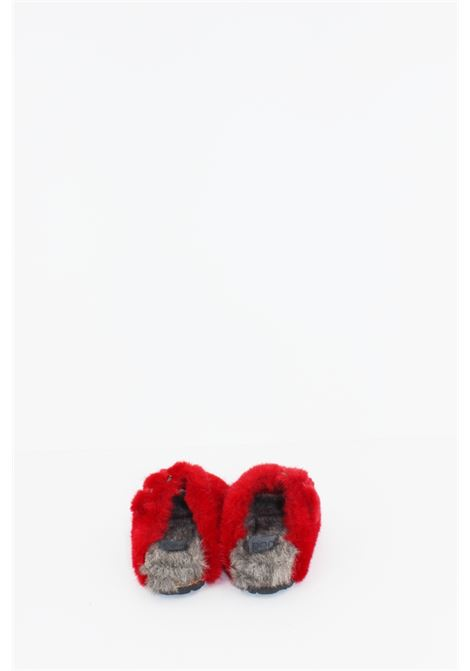 DOU DOU | slipper | CIAB002ROSSA-PANNA