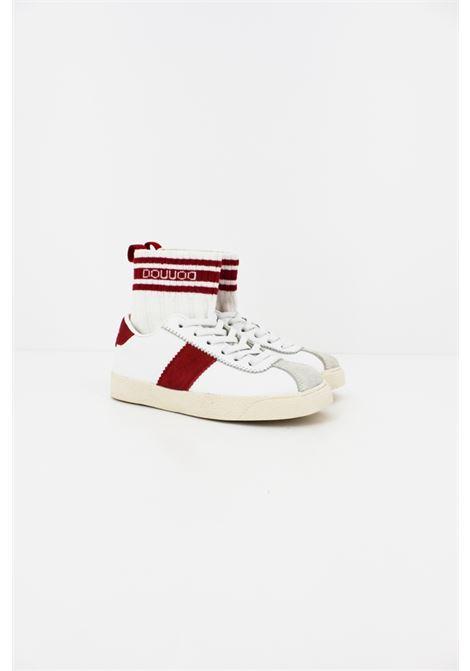 Sneakers Dou Dou DOU DOU | Sneakers | DOUDOU002BIANCA-ROSSA