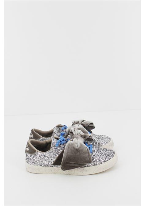 DOU DOU | Sneakers | SNEAK037ARGENTO GLITTER