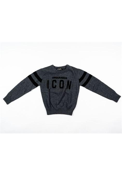 DSQUARED2 | wool sweater | DSQ338GRIGIO