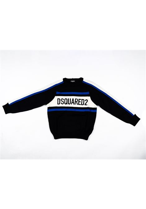 DSQUARED2 | wool sweater | DSQ342NERO