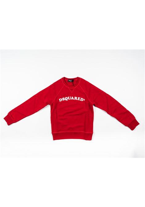 DSQUARED2 | sweatshirt | DSQ345ROSSO