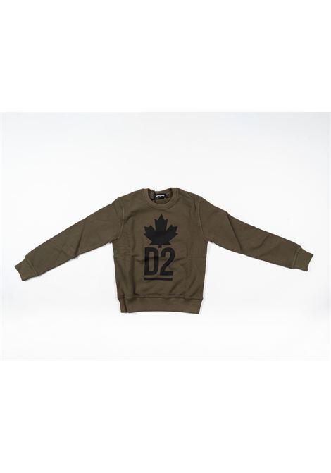 DSQUARED2 | sweatshirt | DSQ347VERDE MILITARE