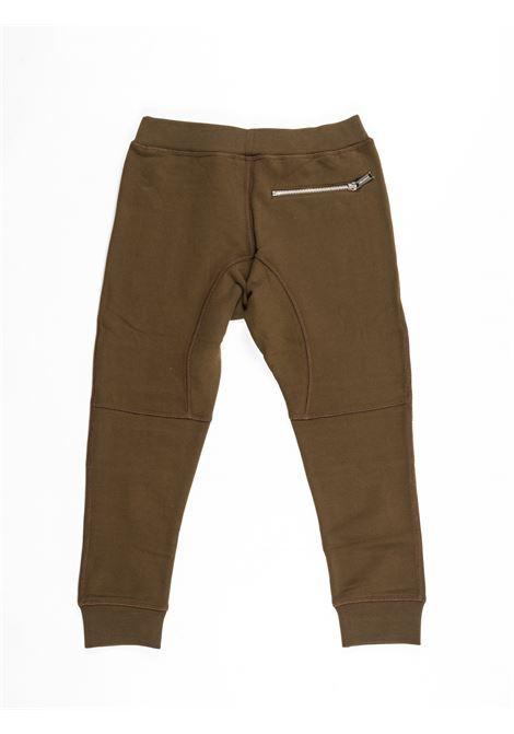 Pantalone felpa Dsquared DSQUARED2 | Pantalone felpa | DSQ379VERDE