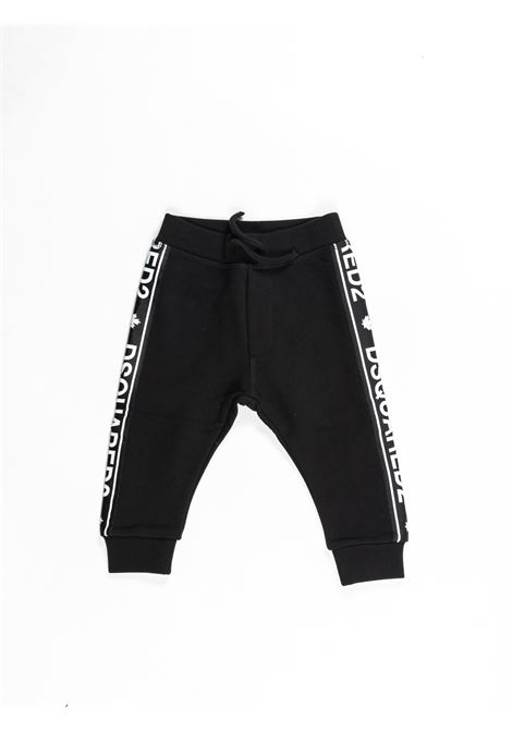 Pantalone felpa  Dsquared DSQUARED2 | Pantalone felpa | DSQ382NERO