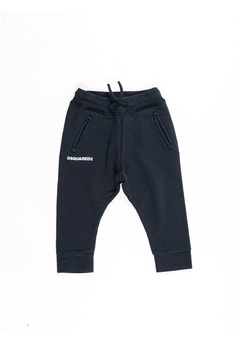 DSQUARED2 | plushy trousers | DSQ387BLU