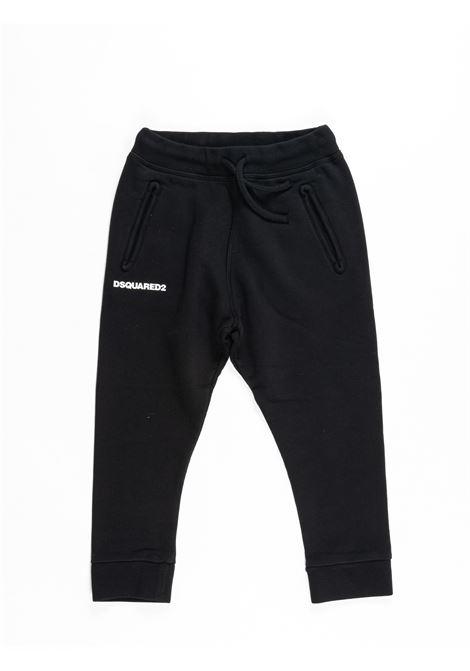 Pantalone felpa  Dsquared DSQUARED2 | Pantalone felpa | DSQ387NERO