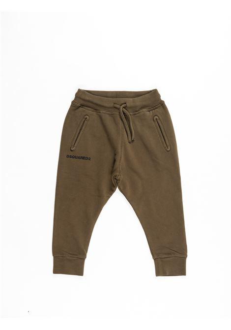 DSQUARED2 | plushy trousers | DSQ388VERDE