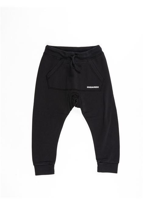 Pantalone felpa Dsquared DSQUARED2 | Pantalone felpa | DSQ390NERO