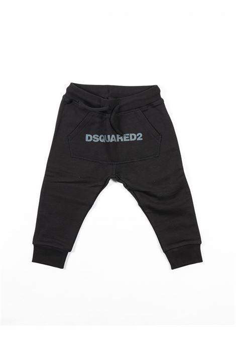 DSQUARED2 | plushy trousers | DSQ392NERO