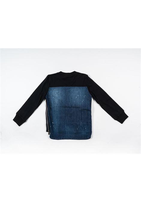 DSQUARED2 | t-shirt long sleeve | DSQ401NERO