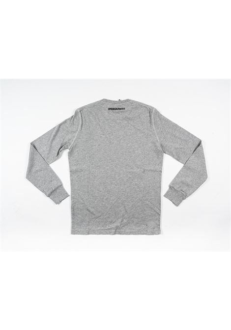 DSQUARED2 | t-shirt long sleeve | DSQ402GRIGIO